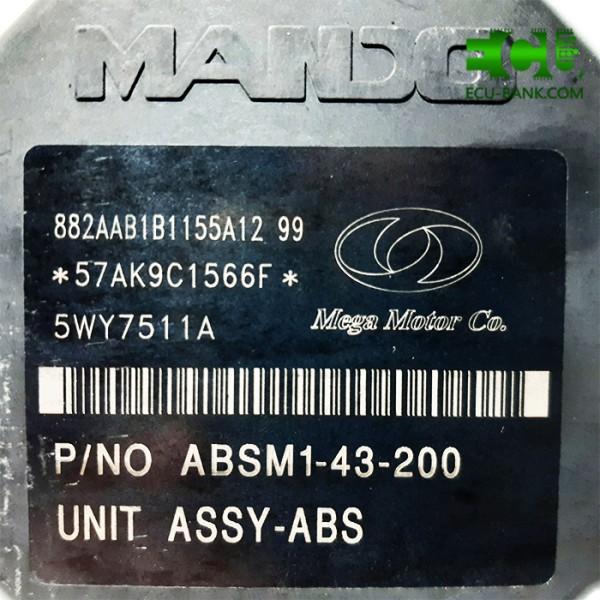 بلوک کامل ای بی اس، ABS موتور مشکی سمند ، برند MANDO