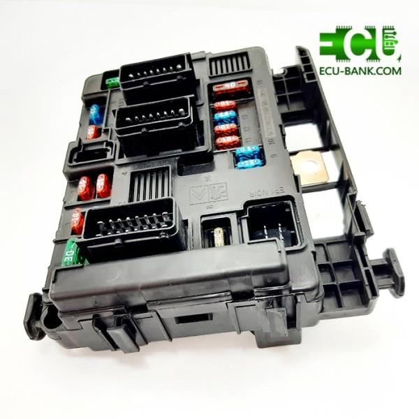 جعبه فیوز BSM (BM34) پژو 206 فرانسوی - طرح زیمنس